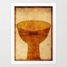 Crusade (aged) Art Print
