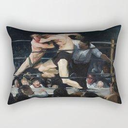 George Bellows's Stag at Sharkeys Rectangular Pillow