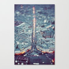 Paris, City of Lights. Canvas Print