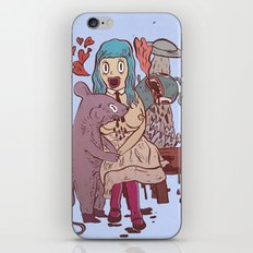 Let's get friendly, stranger iPhone & iPod Skin