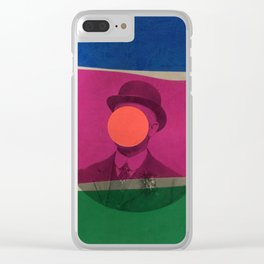Magritte Clear iPhone Case