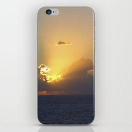 Sunset, Amalphi coast, Italy 2 iPhone Skin