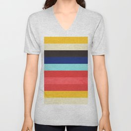 Colors Feels Like We Only Go Backwards - V01 Unisex V-Neck