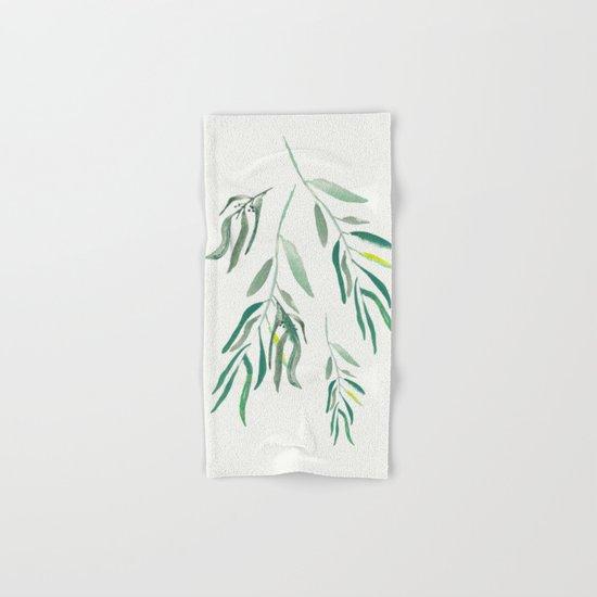 Eucalyptus Branches II Hand & Bath Towel