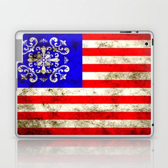An American flag Laptop & iPad Skin