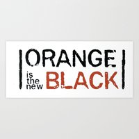 oitnb Art Prints featuring oitnb by Raquel S