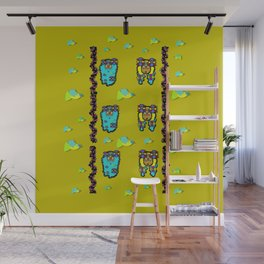 peace people hippie friends and free living fauna Wall Mural