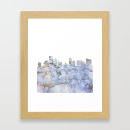 Atlantic City Skyline New Jersey Framed Art Print
