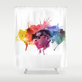 FOCKS Shower Curtain