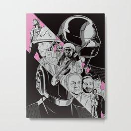 Daft Punk RAM Poster Metal Print