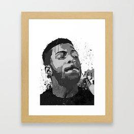 Isaiah Rashad Framed Art Print