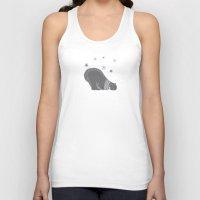 polar bear Tank Tops featuring Polar bear by Better HOME