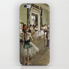 Edgar Degas - The Ballet Class iPhone Skin
