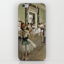 Edgar Degas - The Ballet Class iPhone Skin