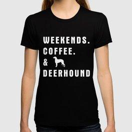 Deerhound gift t-shirt for dog lovers T-shirt