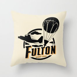 Fulton Recovery Service Throw Pillow