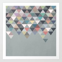 nordic Art Prints featuring Nordic Combination 20 by Mareike Böhmer