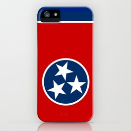 Flag of Tennessee iPhone Case