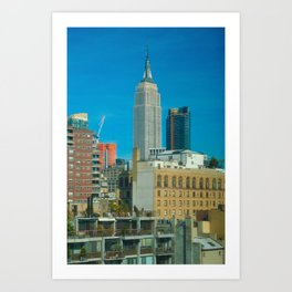 Empire State Building 01 Art Print