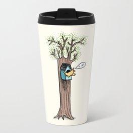 Rude Bird Travel Mug