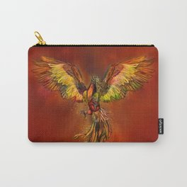 Phoenix Rising - red sky Carry-All Pouch