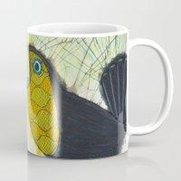toucan Mugs featuring Toucan by Kandus Johnson