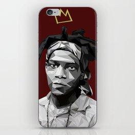 Geometric Basquiat iPhone Skin