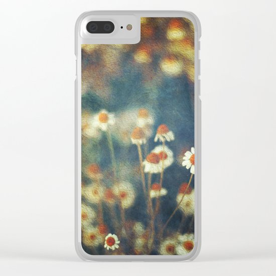 camomille Clear iPhone Case