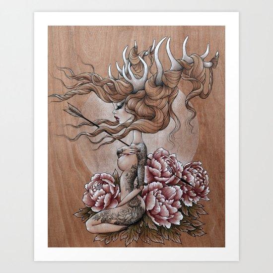 """""""Jelena"""" Art Print"""