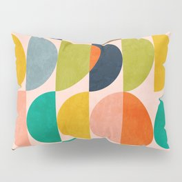 shapes abstract II Pillow Sham