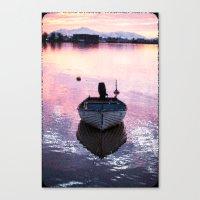 boat Canvas Prints featuring Boat by Dora Birgis