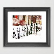 November Snow Framed Art Print
