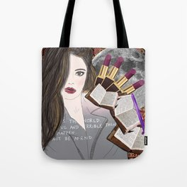 Intelligence and Beauty  Tote Bag