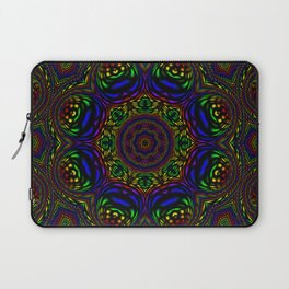 Rainbow Kaleidoscope 3 Laptop Sleeve