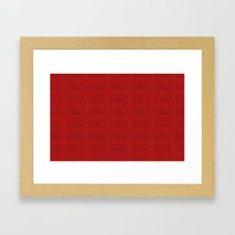 Gamer NES pack Framed Art Print