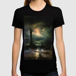 Ivan K  Aivazovsky — Neapolitan Lighthouse T-shirt