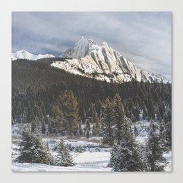 Canada's Rocky Mountains Canvas Print