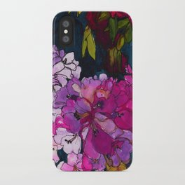 Purple Globes of Rhododendron  iPhone Case