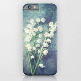Lily Of The Valley II iPhone Case