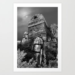 Roche Rock, Cornwall, England, United Kingdom Art Print