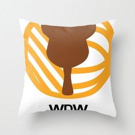 WDW Kingdomcast - Classic logo Throw Pillow
