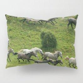 Running horses Pillow Sham
