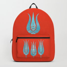 Turkish Tulips ethic design Backpack