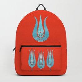 Turkish Tulips ethic design Backpack