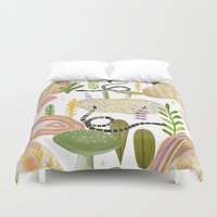 garden Duvet Covers featuring Botanical Garden by Estée Preda