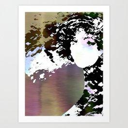 LADY-SILEX-1 Art Print
