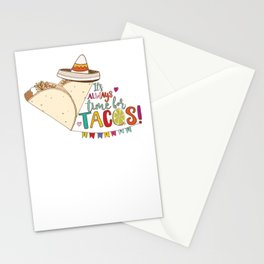 Always Time for Tacos, Taco Love! Stationery Cards