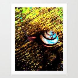 Brooklyn Snail Art Print