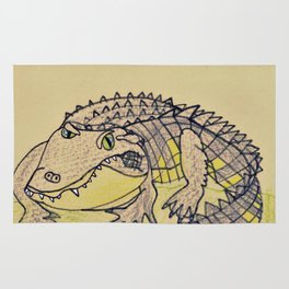 Grumpy Gator Rug