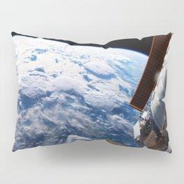 Astronaut in orbit Pillow Sham